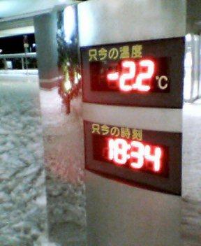 そこそこ寒い